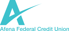Afena Federal Credit Union Logo Home Page Graphic