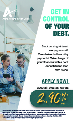 Apply for a debt consolidation loan; rates as low as 2.90% APR