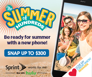 The Summer of Hundreds Be ready for summer with a new phone! Snap up to $300 Love my credit union rewards